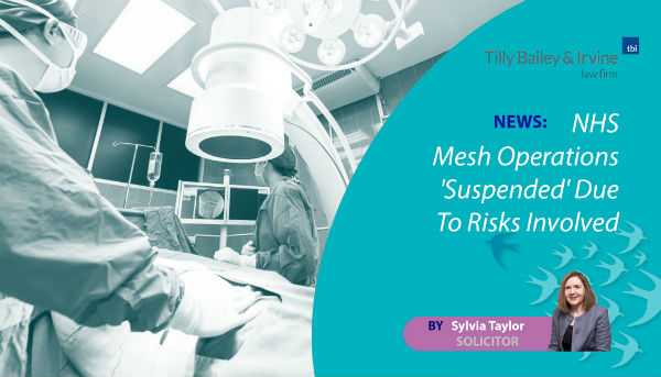 NHS Mesh Operations Suspended Due To Risks