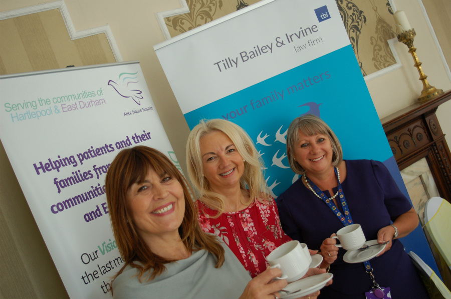 TBI Raise Almost £5,000 With Alice House Hospice