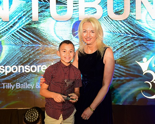 Tilly Bailey & Irvine Present Best Of Hartlepool Child Of Achievement Award