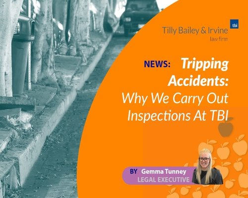 Tripping Accidents: Why Our Solicitors Carry Out Inspections