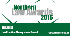 Northern Law Awards - Law Practice Management Finalists 2016