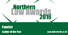 Northern Law Awards - Lawyer Finalists 2016