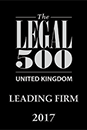Legal 500 - Leading Firm 2015 Award
