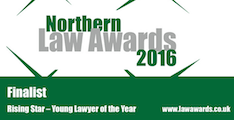 Northern Law Awards - Rising Star Finalists 2016